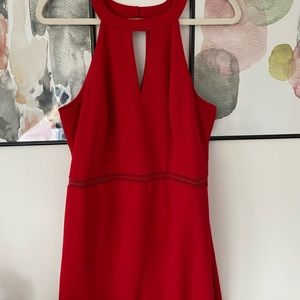 Guess cut out body-con dress